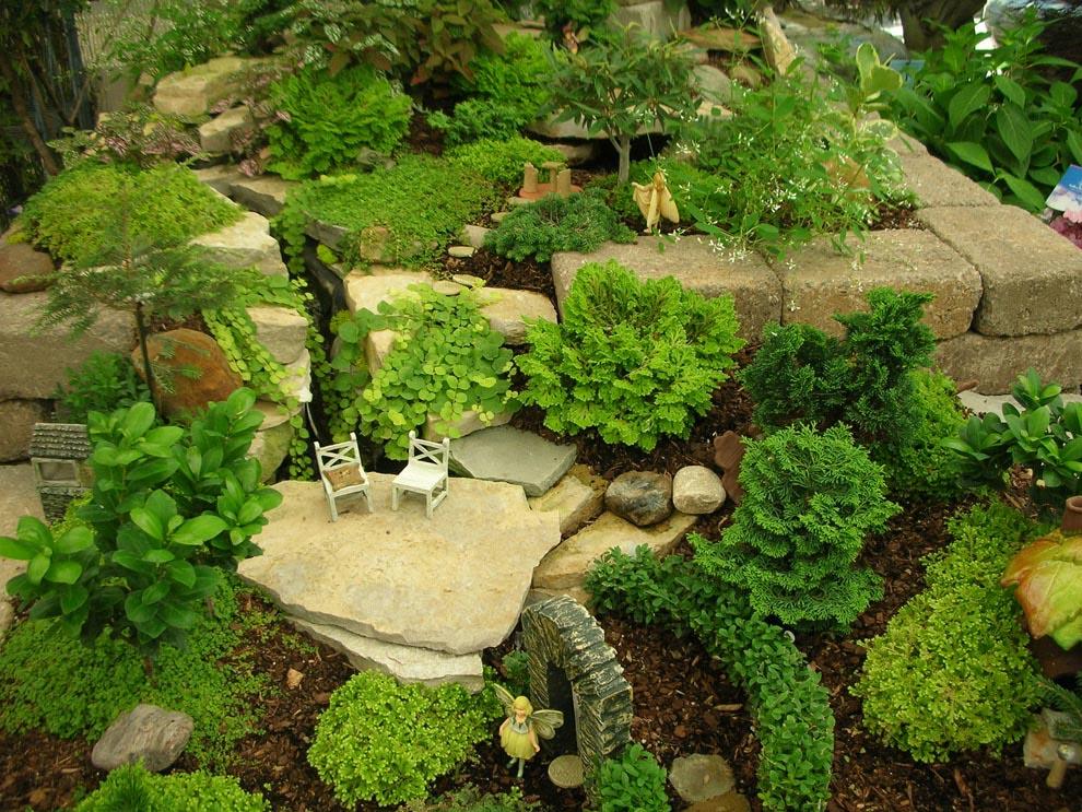 Artificial Plants for Fairy Gardens