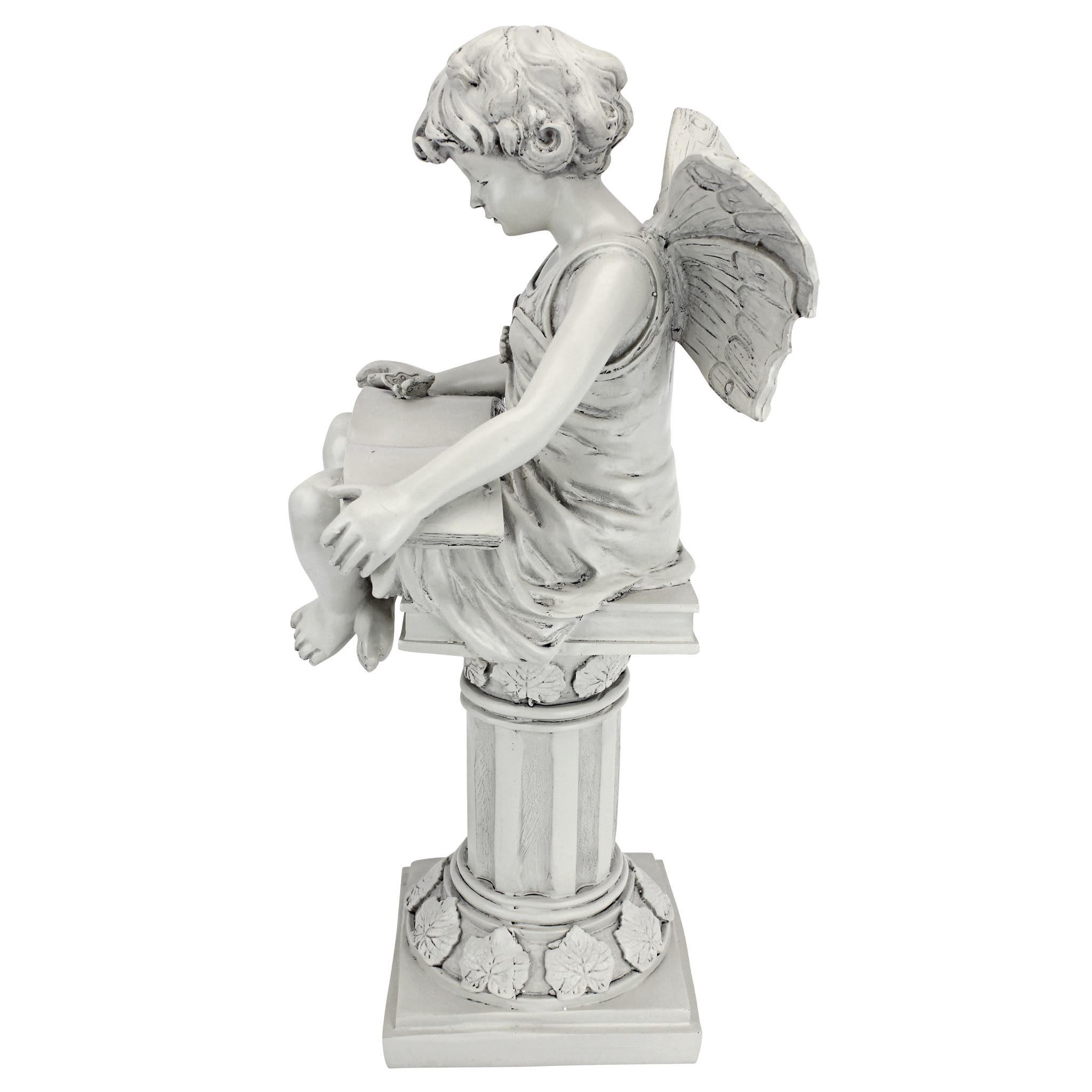 British reading fairy garden statue garden design ideas Reading fairy garden statue
