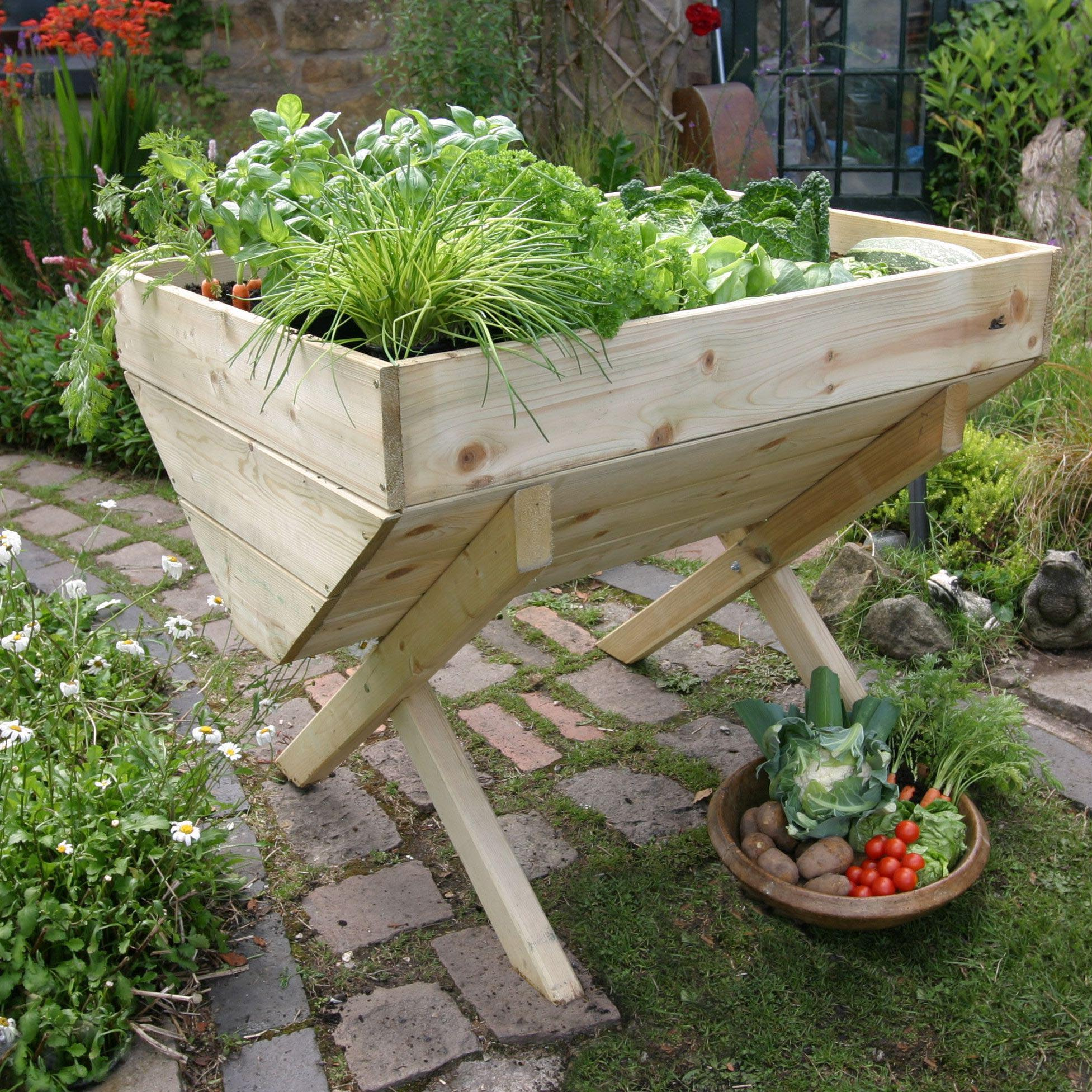 Building a Raised Herb Garden