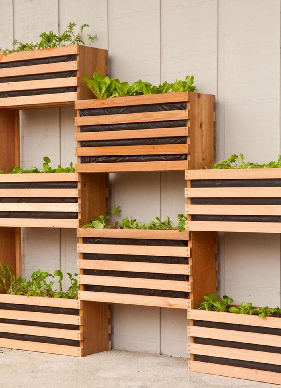 Building a Vertical Herb Garden