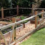 Building Fence Around Vegetable Garden