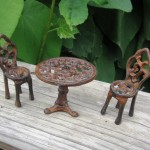Cast Iron Garden Fairies