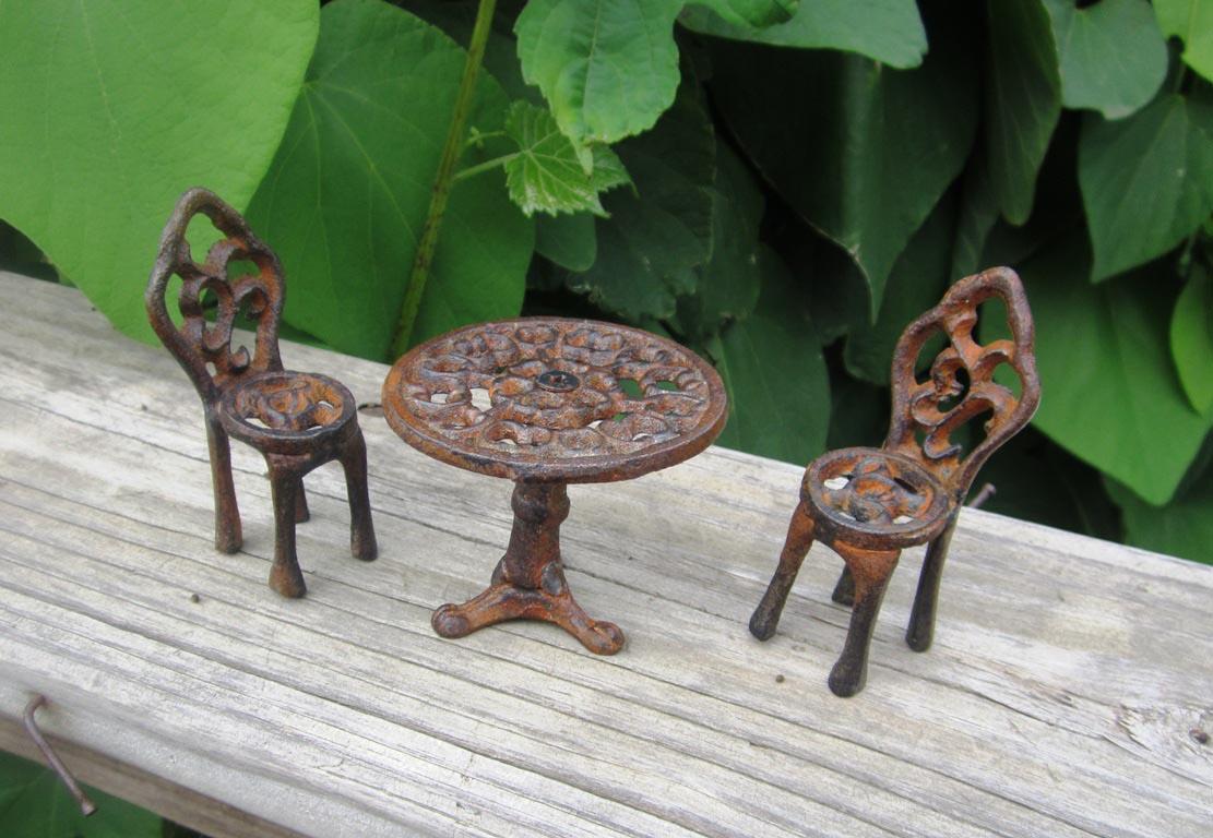 Cast Iron Garden Fairies