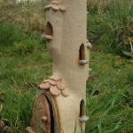 Ceramic Fairy Houses for the Garden