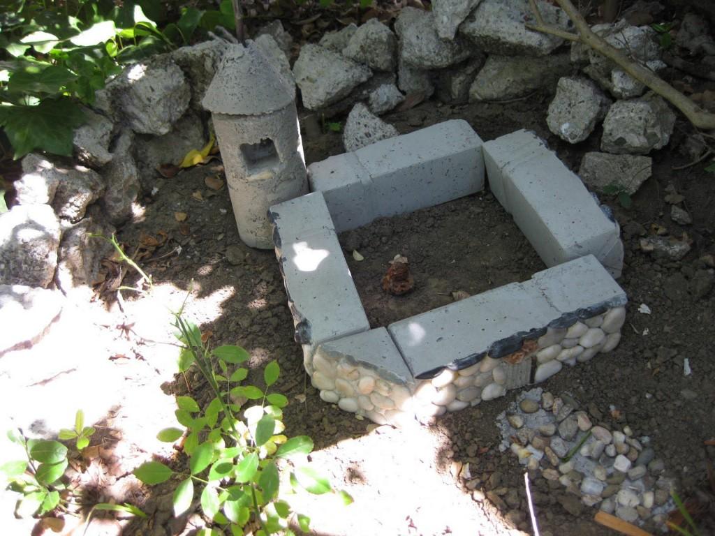Concrete Fairy Garden Houses