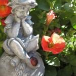 Concrete Fairy Garden Statues