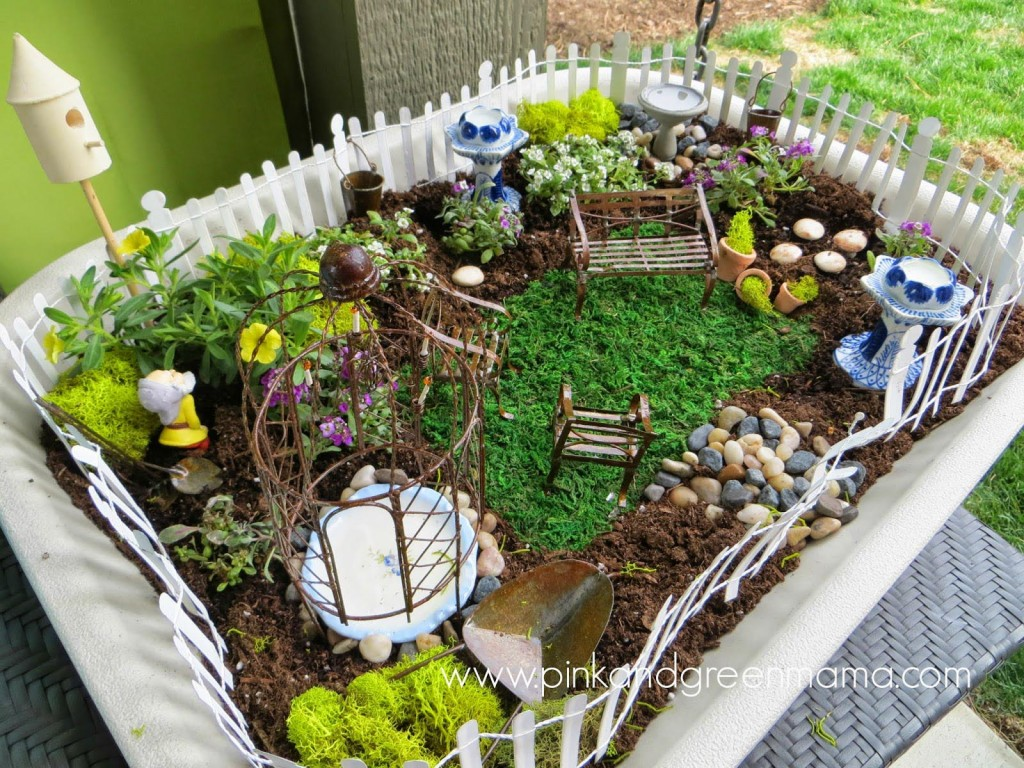 Containers for Fairy Gardens