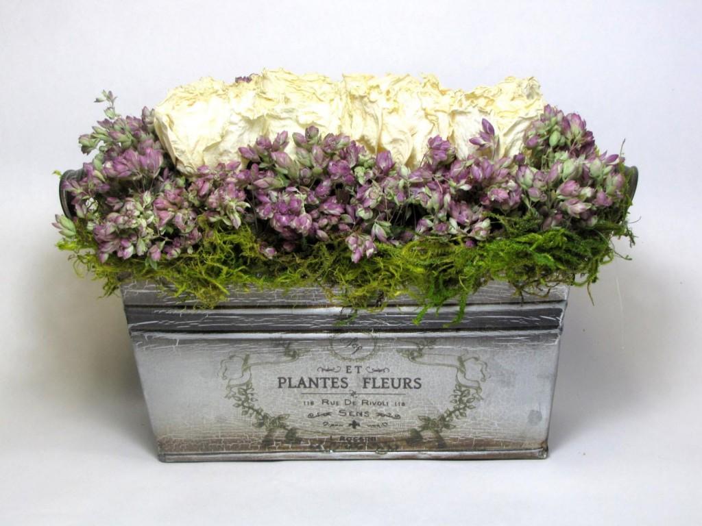 Contemporary Dried Flower Arrangements