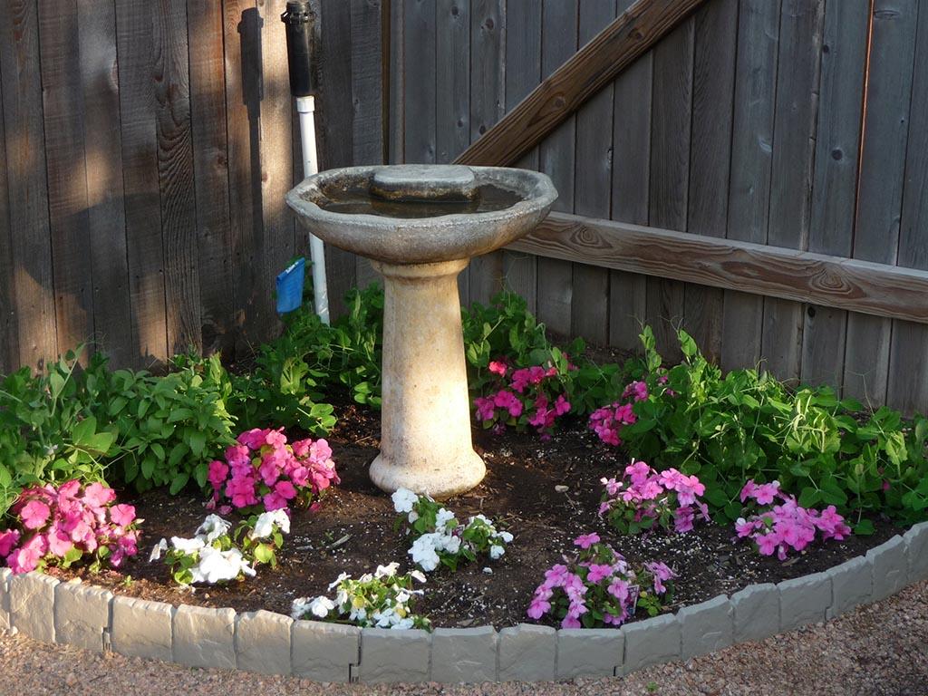 Corner Flower Garden Plans