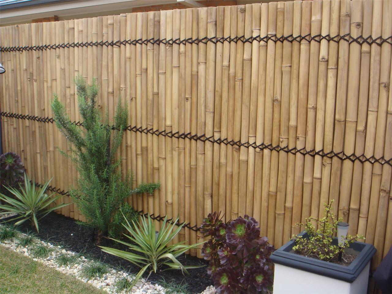 DIY Bamboo Garden Fence