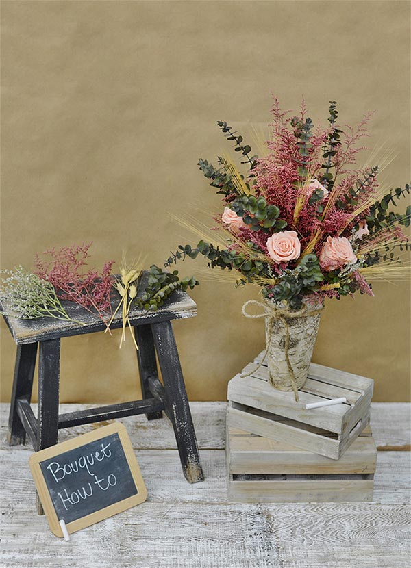 DIY Dried Flower Arrangements