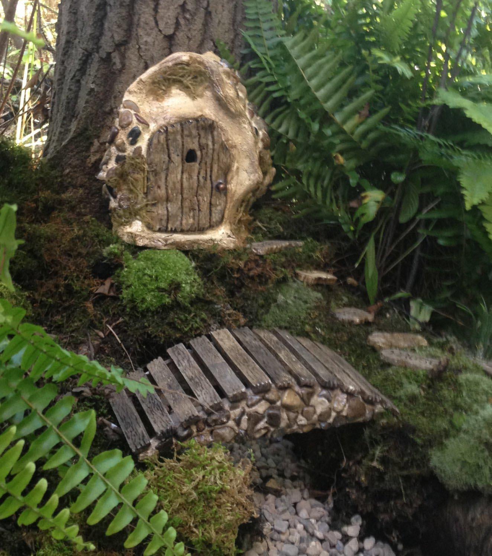 DIY Fairy Garden Bridge