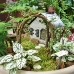 DIY Fairy Garden Castle