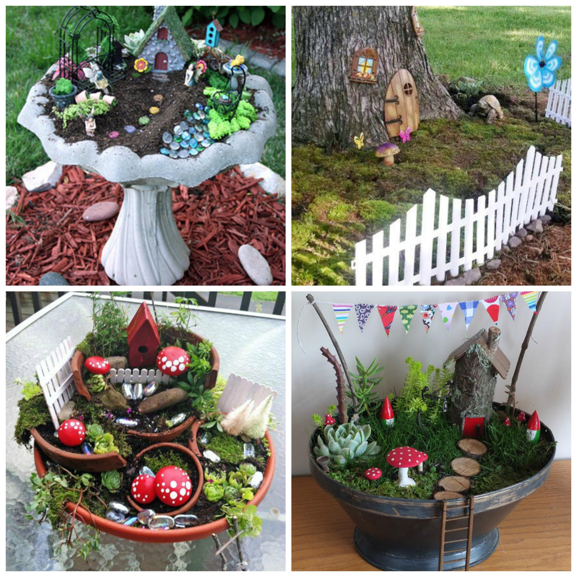 DIY Fairy Garden Crafts