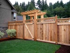DIY Garden Fence Gate