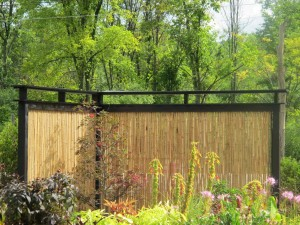 DIY Garden Fence Panels
