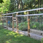 DIY Garden Fence to Keep Feer Out