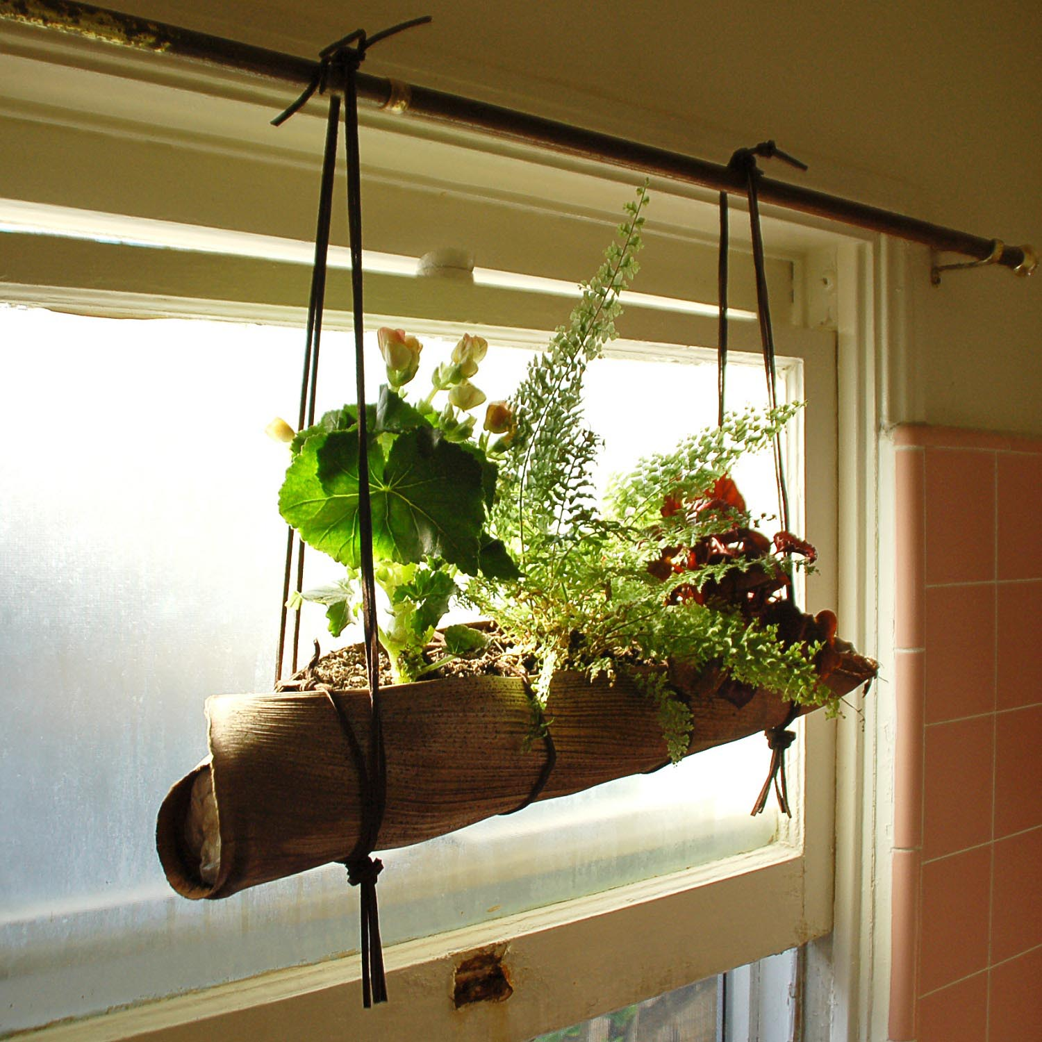DIY Indoor Vertical Herb Garden