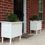 DIY Large Wooden Planter Box
