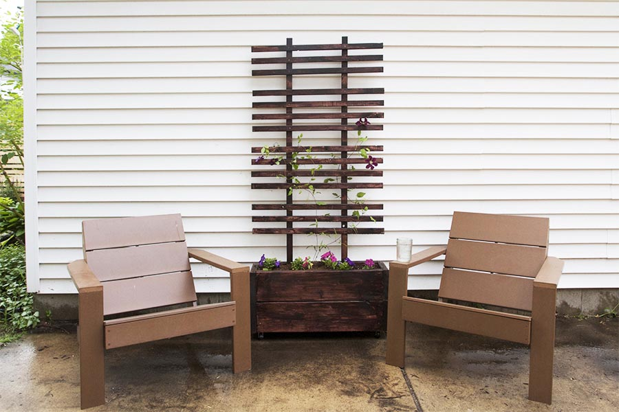 DIY Large Wooden Planter Box