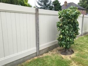 DIY PVC Garden Fence
