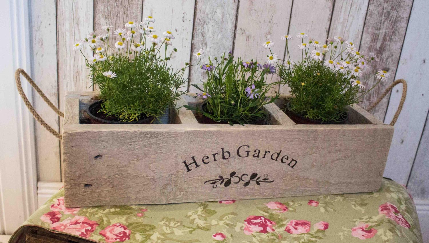 DIY Window Box Herb Garden