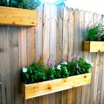 DIY Wooden Box Planter