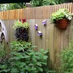 DIY Wooden Garden Fence