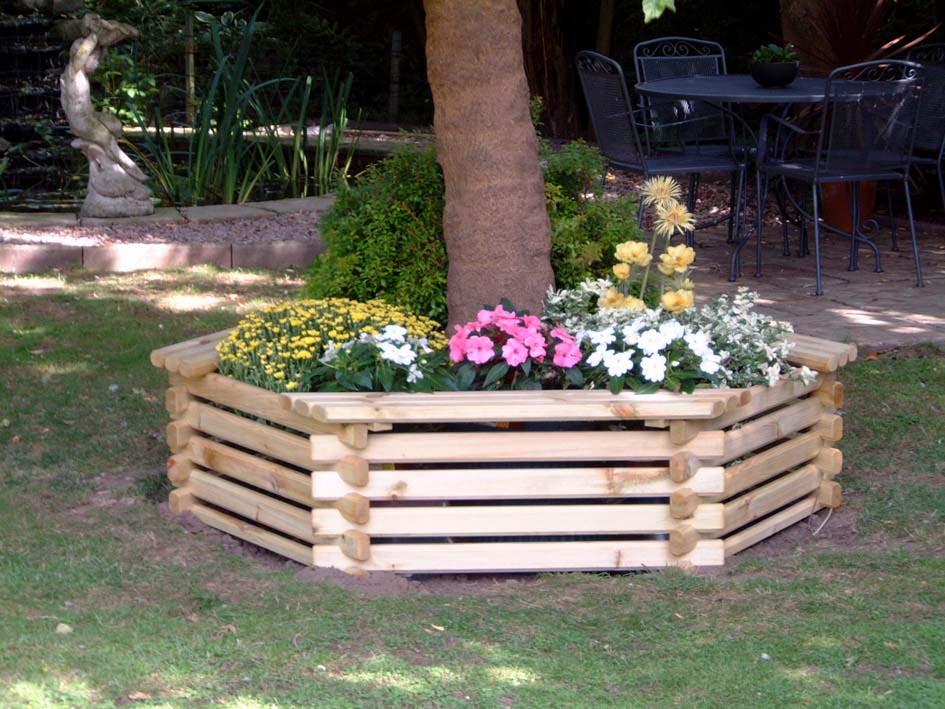 DIY Wooden Garden Planters