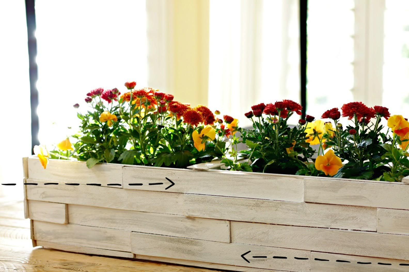 DIY Wooden Planters Boxes