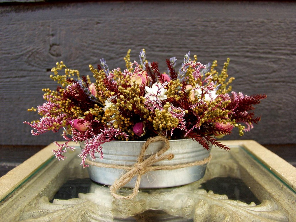 Dried Flower Arrangements Centerpieces