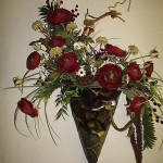 Dried Flower Wall Arrangements