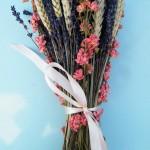 Dried Lavender Flower Arrangements
