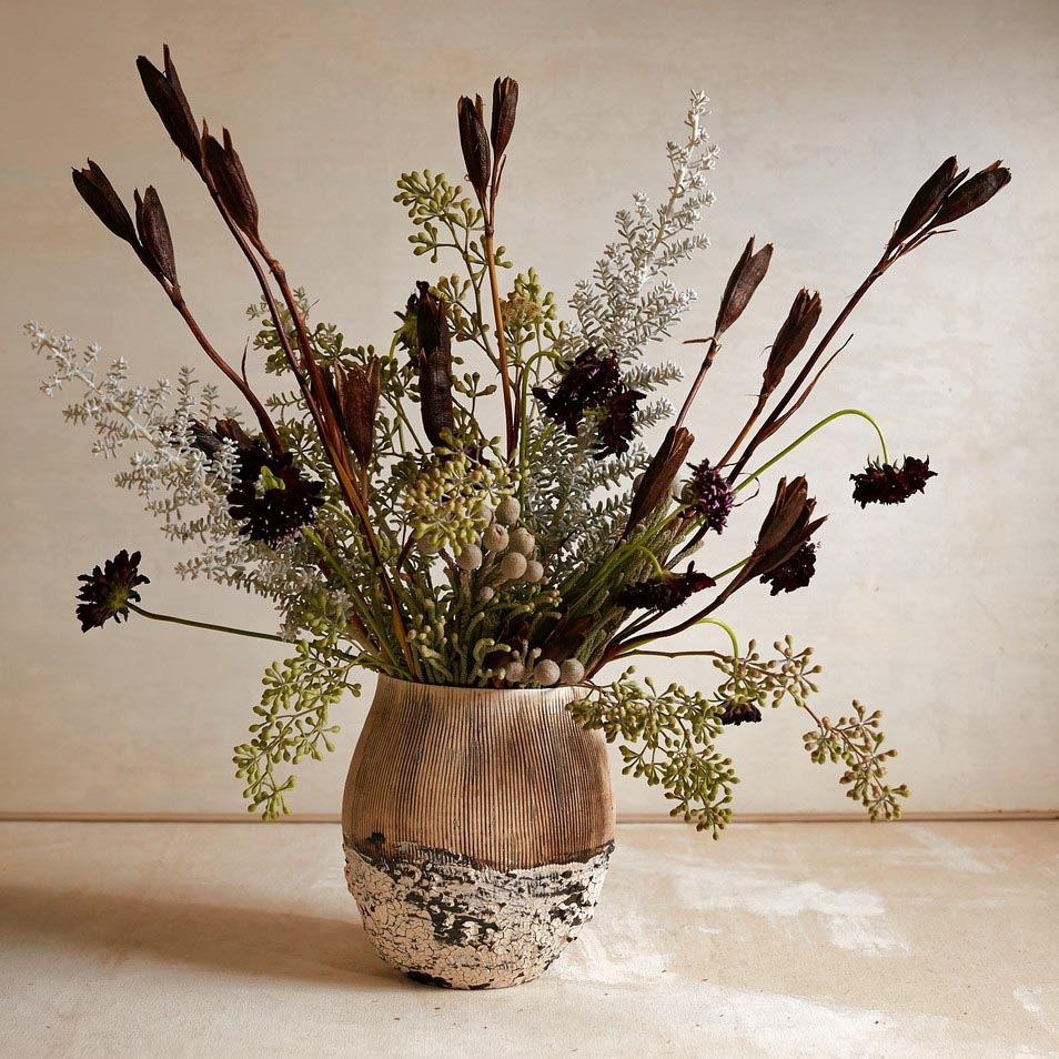 Dried Seed Heads for Flower Arranging