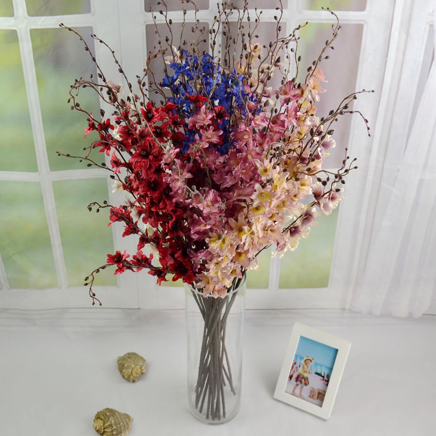 Dried Silk Flower Arrangements