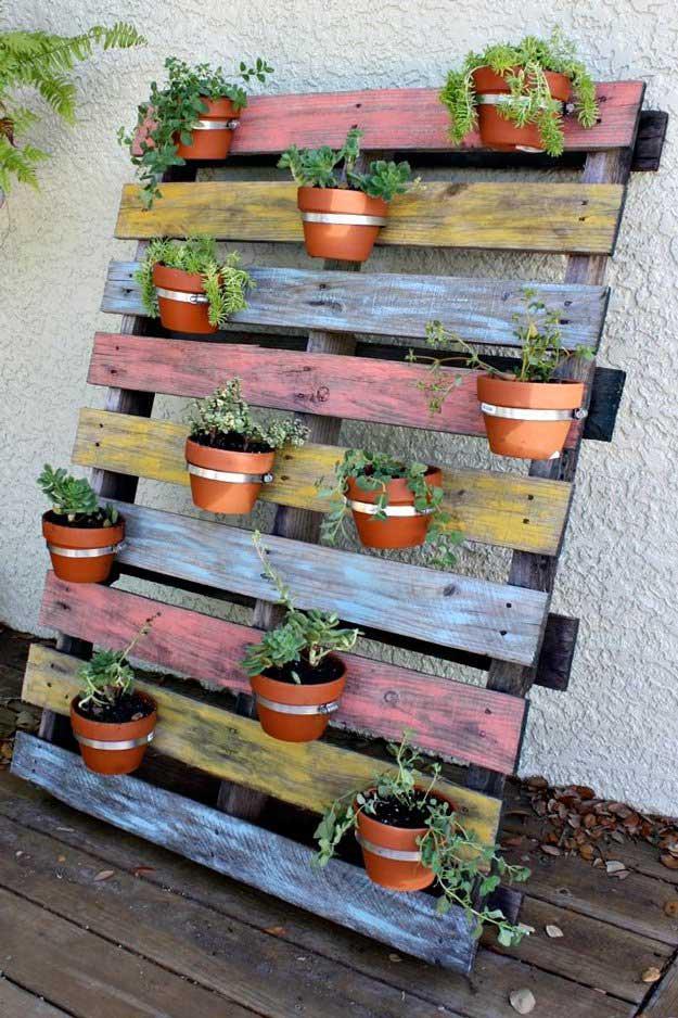 Easy Patio Herb Garden