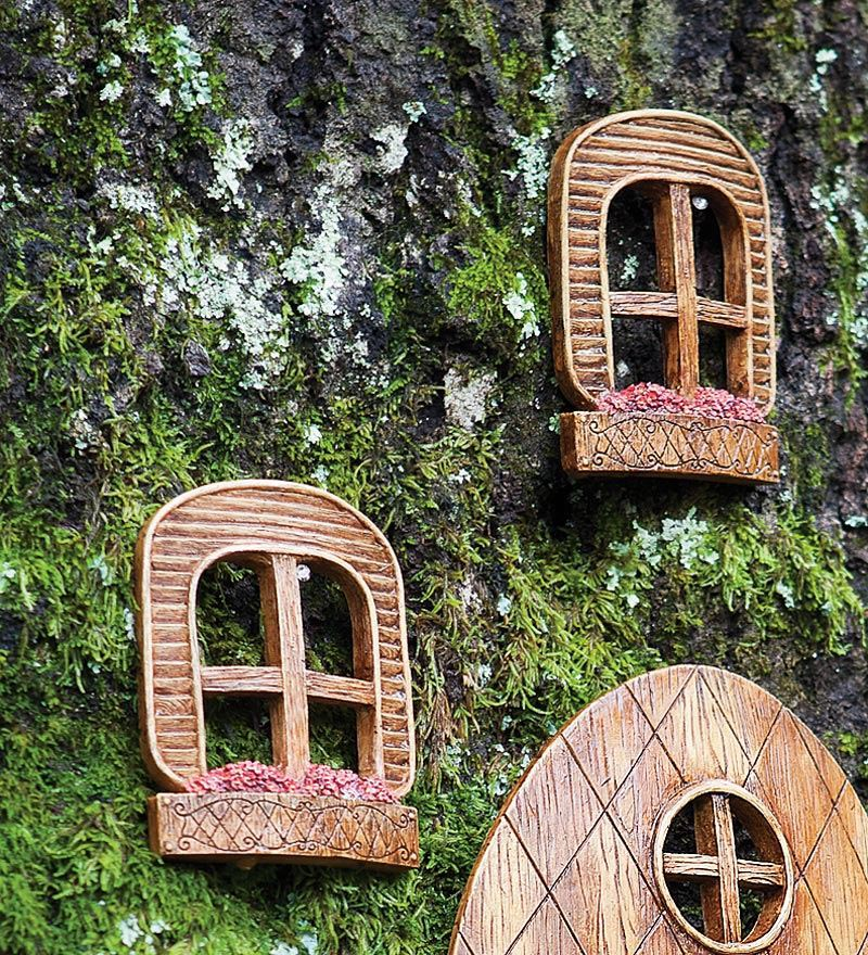 Fairy Garden Doors And Windows Garden Design Ideas