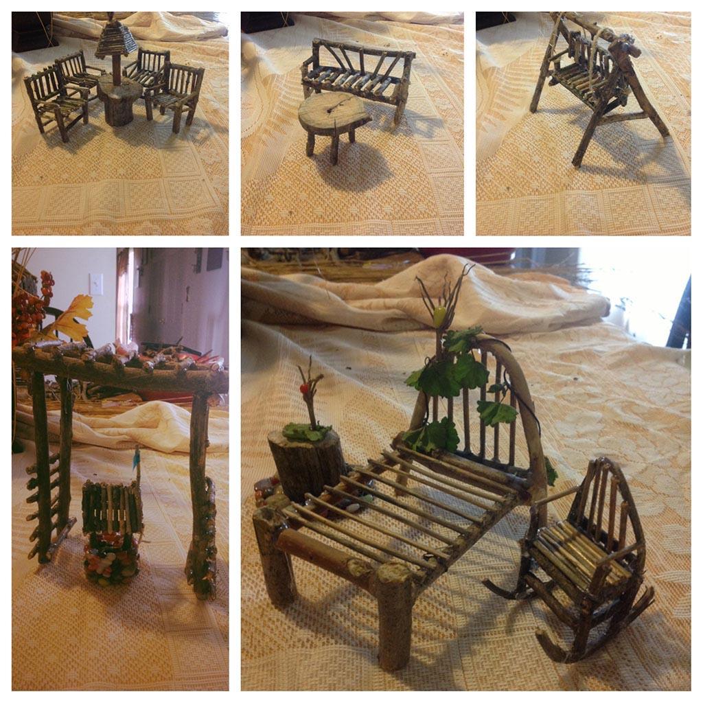 Fairy Garden Furniture DIY