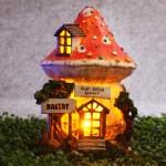 Fairy Garden House Solar