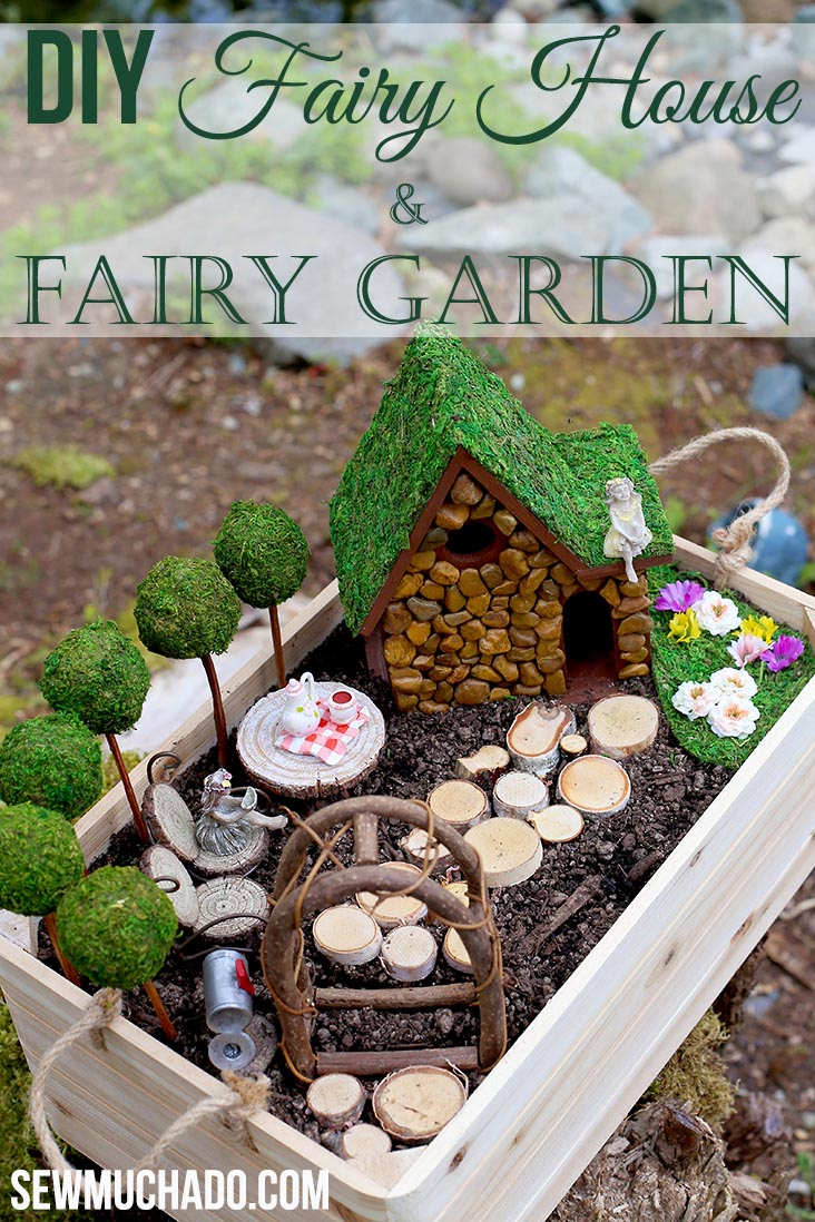 Fairy Garden Houses DIY