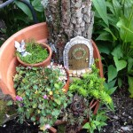 Fairy Garden in Flower Pot
