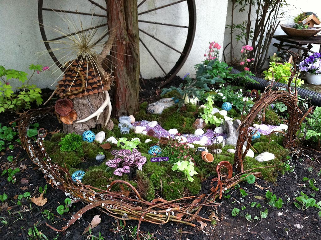 Fairy Garden Outdoor Plants