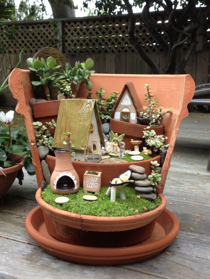 Fairy Garden Plant Pot