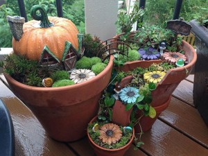 Fairy House Garden Planter