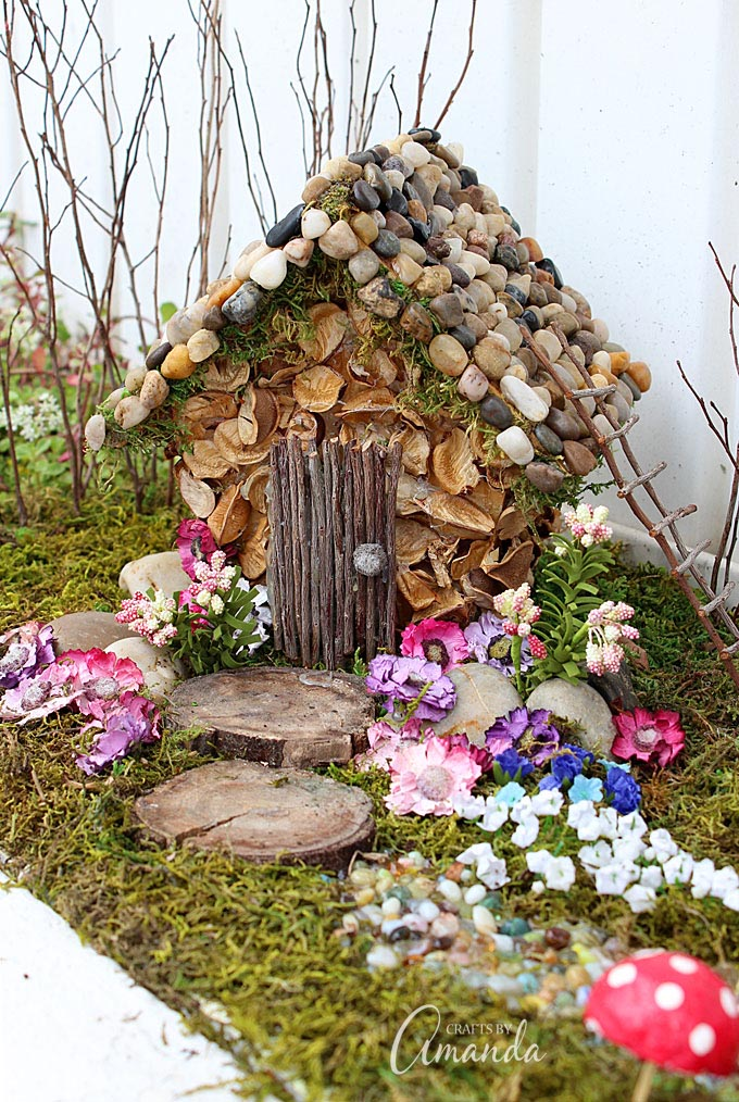 Fairy House in Garden