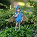 Fairy Reading Book Garden Statue