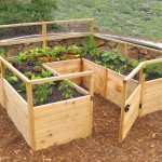 Fenced Raised Garden Bed Kit