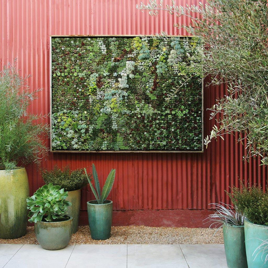 Flora Grubb Vertical Succulent Garden