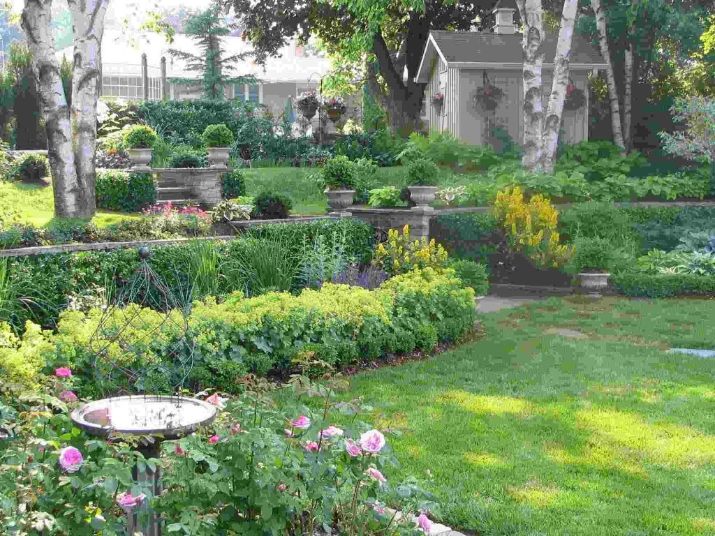 Flower Garden Plans Zone 5