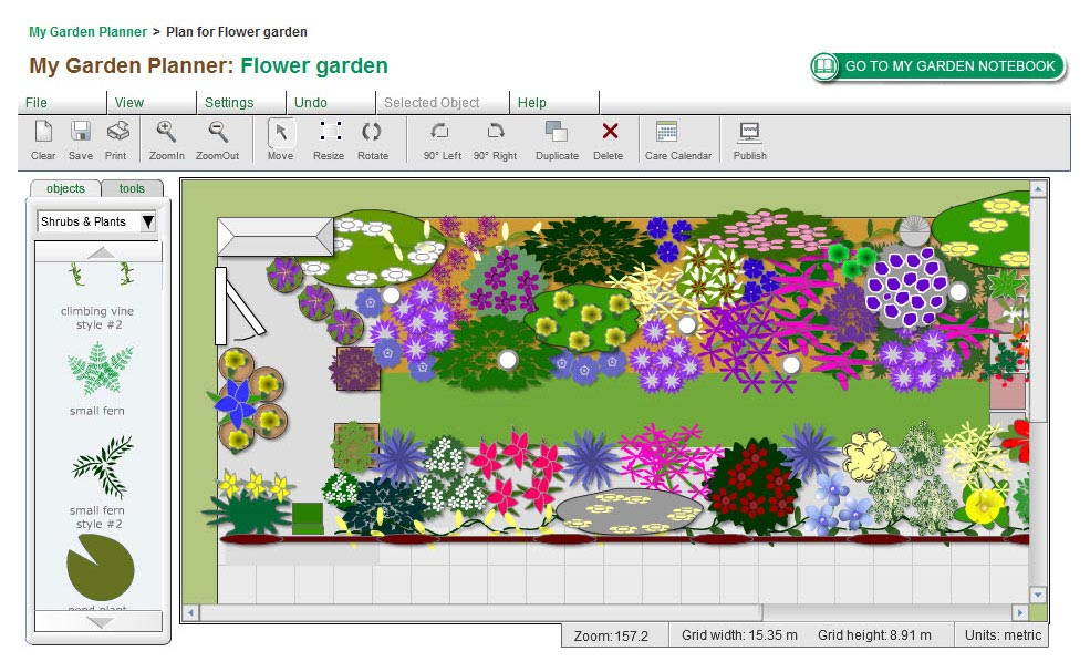 Free Vegetable Garden Planning Software
